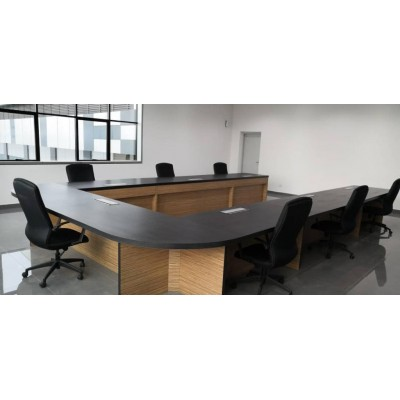 Custom Make U shape Meeting Table