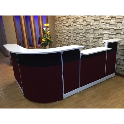 custom make reception counter