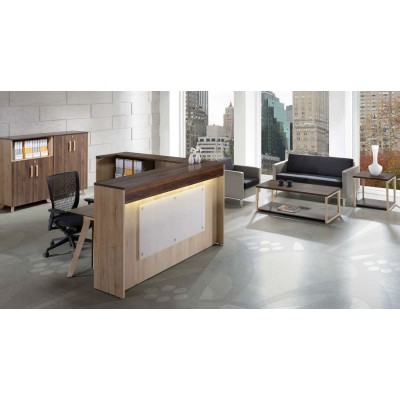 Reception Counter TC-7 (L-shape)
