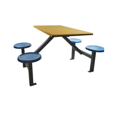 4 seater fiberglass table frame