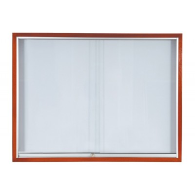 Wooden Sliding  Glass Cabinet  Whiteboard